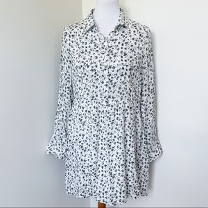 ENTRO Floral Baby Doll Dress Size M